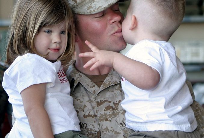 Supporting a Military Child